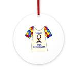 Walk 4 Autism Ornament (Round)