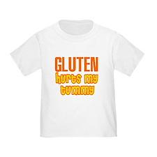 Gluten Hurts My Tummy T