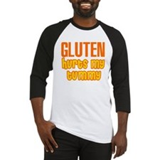 Gluten Hurts My Tummy Baseball Jersey