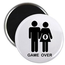 """Game Over 2.25"""" Magnet (100 pack)"""