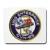 USS Enterprise CVN 65 Mousepad