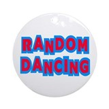 Random Dancing iCarly Ornament (Round)