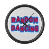 Random Dancing iCarly Large Wall Clock