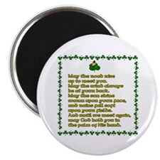 "Irish Sayings, Toasts and Ble 2.25"" Magnet (10 pac"