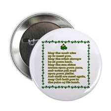 Irish Sayings, Toasts and Ble Button