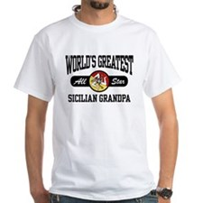 World's Greatest Sicilian Grandpa Shirt