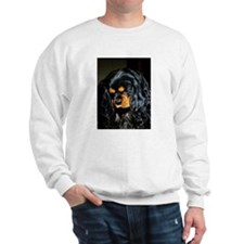 Cute Black and tan cavalier king charles Sweatshirt