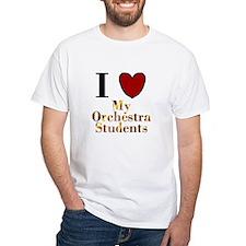 I Love My Orchestra Students Shirt