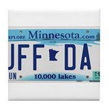 Uffda Tile Coaster