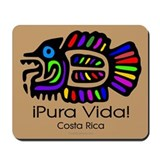 Pura Vida Fish Mousepad