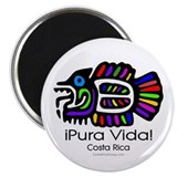 Pura Vida Fish Magnet