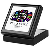Pura Vida Fish Keepsake Box
