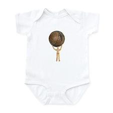 Atlas holds the globe Infant Bodysuit