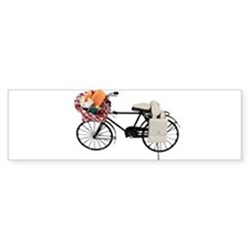 Bicycle picnic Bumper Sticker (10 pk)