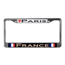 Paris, FRANCE - License Plate Frame