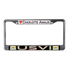 Charlotte Amelie, USVI - License Plate Frame