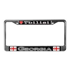 Tbilisi, GEORGIA - License Plate Frame