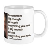 Thomas Jefferson: Big Enough Coffee Mug