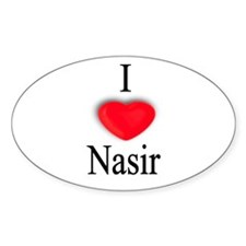 Nasir Oval Decal