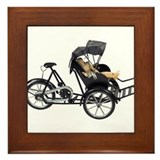 Energy efficient rickshaw Framed Tile