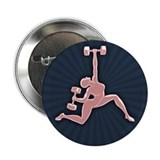 "Gym Goddess 2.25"" Button"