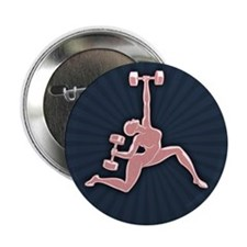 "Gym Goddess 2.25"" Button (10 pack)"