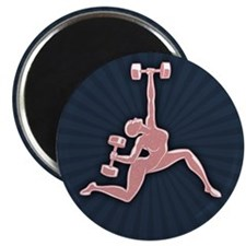 "Gym Goddess 2.25"" Magnet (10 pack)"