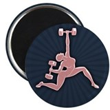 Gym Goddess 2.25&quot; Magnet (100 pack)
