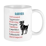 Aries Horoscope Coffee Mug