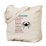 Cancer Horoscope Tote Bag
