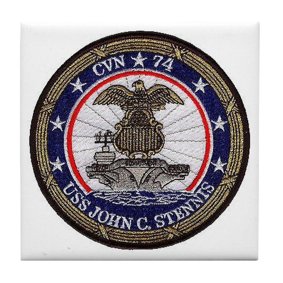 USS John Stennis CVN 74 Tile Coaster for $12.50