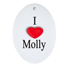 Molly Oval Ornament