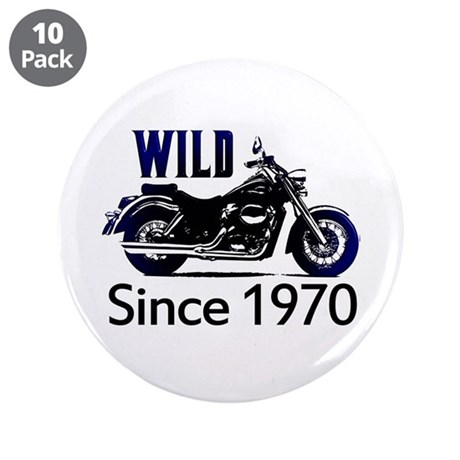 "40th Birthday 3.5"" Button (10 pack)"