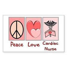 Nurse Gifts XX Rectangle Decal