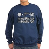 Washington DC Snowball Fight Jumper Sweater