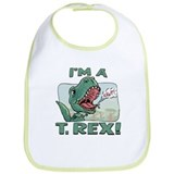 I'm a T. Rex Bib