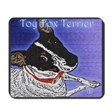 Toy Fox Terrier Mousepad