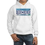 Deer River License Plate Hoodie