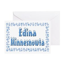Edina Minnesnowta Greeting Card