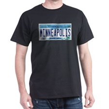 Minneapolis License T-Shirt