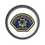 California DMV Investigator Wall Clock