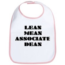 Lean Mean Associate Dean Bib