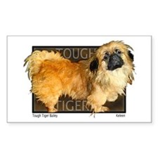 "Pekingese ""Tough Tiger Bailey"" my first dog... Sti"