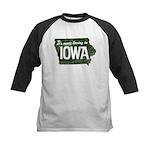 Iowa Boring Kids Baseball Jersey