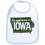Iowa Boring Bib