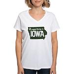 Iowa Boring Women's V-Neck T-Shirt