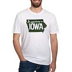 Iowa Boring Fitted T-Shirt