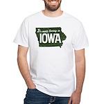 Iowa Boring White T-Shirt