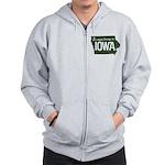 Iowa Boring Zip Hoodie
