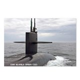 USS ALASKA Postcards (Package of 8)